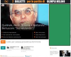 Ilgiorno.it - 22/01/2015
