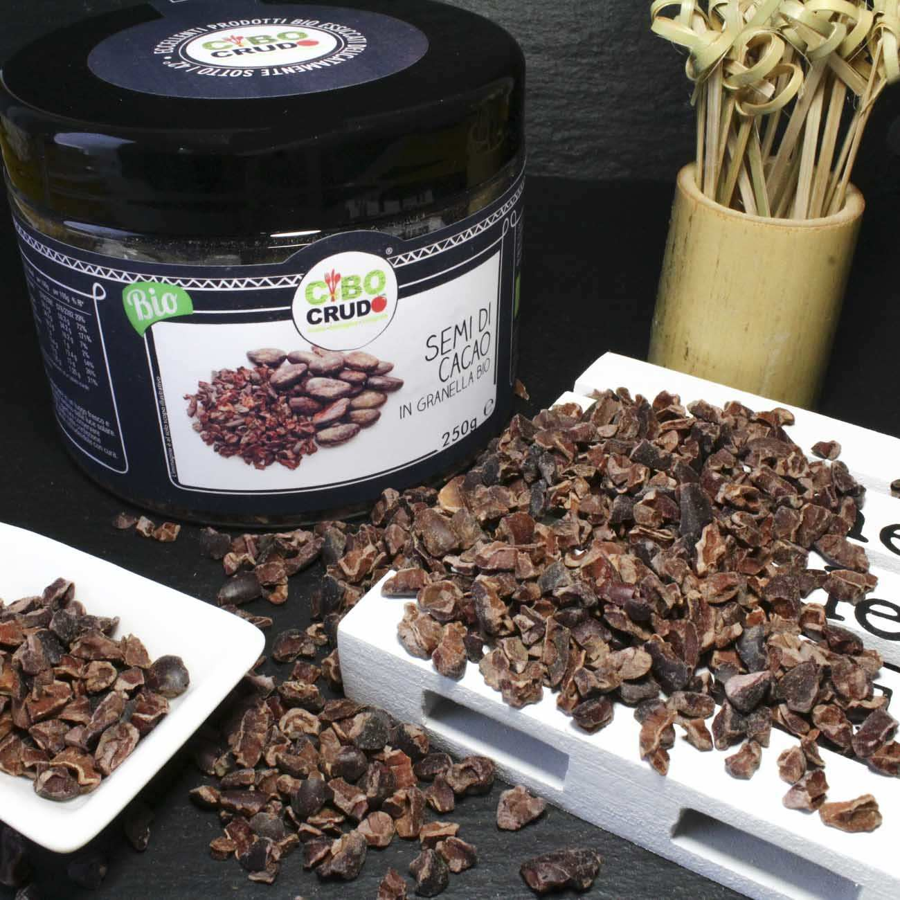 Semi Di Cacao In Granella Biologico