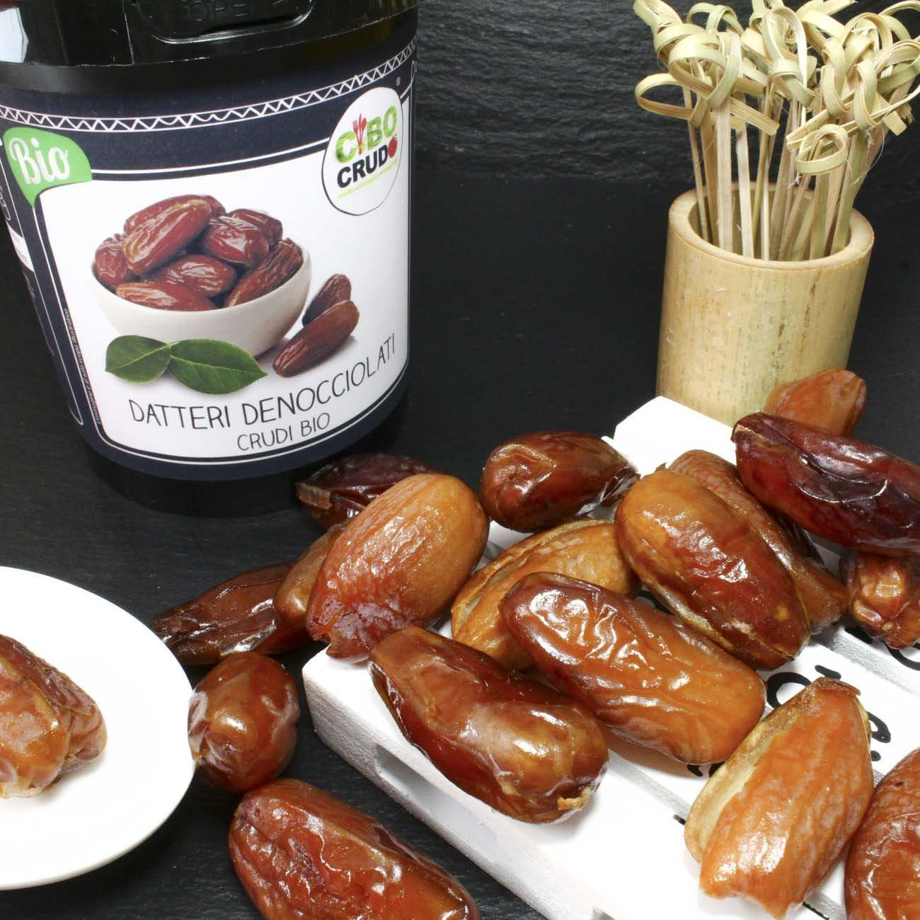 Datteri<br/>Denocciolati Crudi Bio - Pitted Dates Raw Organic - 250g