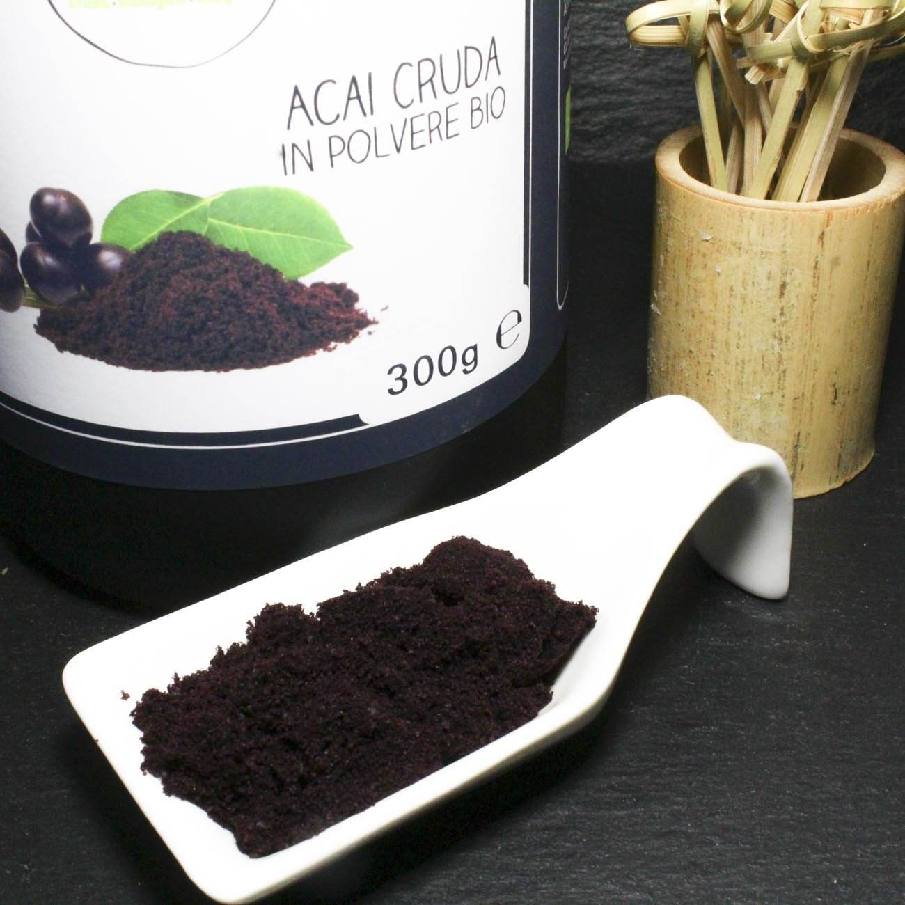 Acai<br/>In Polvere Cruda Bio - Acai Powder Raw Organic - 300g