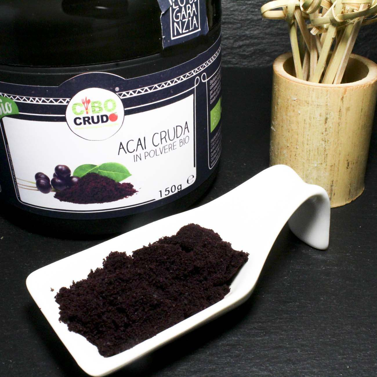 Acai<br/>In Polvere Cruda Bio - Acai Powder Raw Organic - 150g