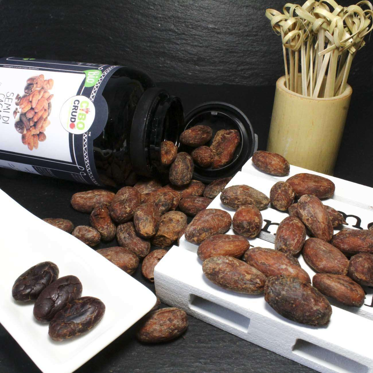 Semi Di Cacao Interi Biologico