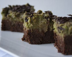 Brownie  All' Avocado e Pistacchi
